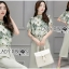 Lady Anna Smart Casual Floral Printed Top and Culottes Set L259-7916 thumbnail 9