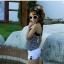 SM-V1-206 ชุดว่ายน้ำแฟชั่น คนอ้วน เด็ก ดารา thumbnail 3