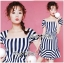 Lady Jenny '50s Style Mixed Striped Dress thumbnail 3