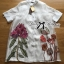 Lady Claire Flower Embroidered Organza and Cotton Shirt Dress L201-75C11 thumbnail 17