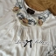 Lady Emily Country Flower Embroidered Kaftan Blouse L148-49A01 thumbnail 5