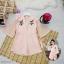 Flower Playsuit เพลล์สูทขาสั้นงานผ้าซาร่าเนื้อสวย thumbnail 3