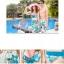 SM-V1-130 ชุดว่ายน้ำแฟชั่น คนอ้วน เด็ก ดารา thumbnail 2