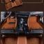 พรมปูพื้นรถยนต์ 5D เข้ารูป Honda BRV สีน้ำตาล thumbnail 64