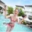 SM-V1-132 ชุดว่ายน้ำแฟชั่น คนอ้วน เด็ก ดารา thumbnail 6