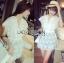 Abigail Pretty and Sexy White Lace Mini Dress L216-65C04 thumbnail 12
