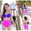 SM-V1-264 ชุดว่ายน้ำแฟชั่น คนอ้วน เด็ก ดารา thumbnail 2