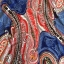 SM-V1-355 ชุดว่ายน้ำเซ็ต 3 ชิ้น สไตล์โบฮีเมียน โทนสีน้ำเงิน-แดง (บรา+บิกินี่+ชุดแซก) thumbnail 5