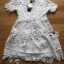 Lady Monique Sweet Feminine Flower Guipure Lace Dress thumbnail 4