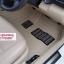 พรมปูพื้นรถยนต์ 5D เข้ารูป Honda BRV สีน้ำตาล thumbnail 35