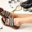 รองเท้าลำลอง สไตล์สุขภาพ แบบสวมสายคาดแถบ 2 ระดับ thumbnail 4
