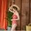 ชุดว่ายน้ำวันพีช สีแดงอมส้ม สวย thumbnail 5