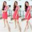 ิMartin dress เดรสสีแดงแบบเดียวกับคุนอั้มค่ะ ด้านหน้าเปนงานสกรีนลายดอก thumbnail 3