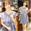 Lady Sweet Effortless Embroidered Denim Dress L152-65C03 thumbnail 1