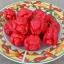 พริกตรินิแดด มอรูก้า สกอร์เปียน(สีแดง) - Trinidad Moruga Scorpion thumbnail 3