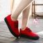 รองเท้าผ้าใบแฟชั่นแพลตฟอร์ม ทำจากผ้าใบสีทูโทนสดใสด้านนอก-ใน thumbnail 5