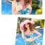 SM-V1-130 ชุดว่ายน้ำแฟชั่น คนอ้วน เด็ก ดารา thumbnail 7