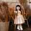 Chicken Dress ชุดเดรสเด็กสีครีม thumbnail 3
