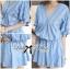 DR-LR-096 Lady Eugene Baby Blue Bohemian Dress thumbnail 14