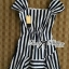 Lady Jenny '50s Style Mixed Striped Dress thumbnail 9