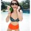 SM-V1-274 ชุดว่ายน้ำแฟชั่น คนอ้วน เด็ก ดารา thumbnail 14