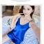 SL-I1-232 ชุดนอนแบบกางเกง สายเดี่ยว ผ้าซาตินเครปนิ่ม thumbnail 4
