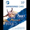 บัตร Gameforge 10EUR