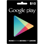 บัตร Google Gift Card 10USD