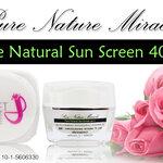 ครีมกันแดด Pure Natural Sun Screen 40++