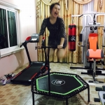HAXAGON TRAMPOLINE เขียว