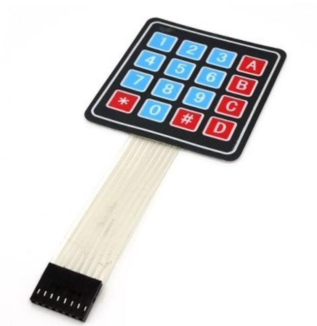 4x4 Matrix Array 4*4 16 Keys Switch Keypad Keyboard Module for Arduino