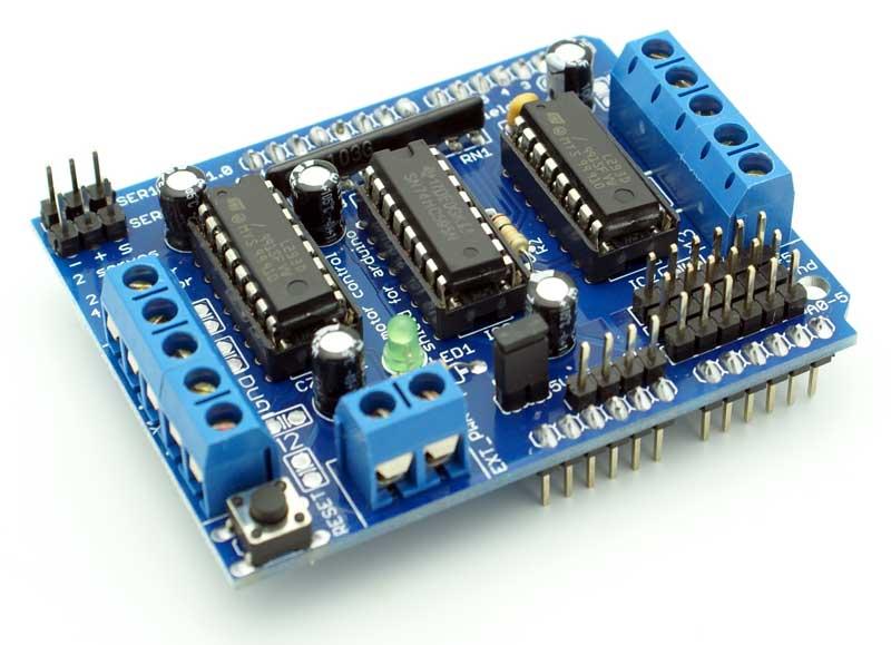 Motor Drive Shield L293d Arduino Module Sensor Plc