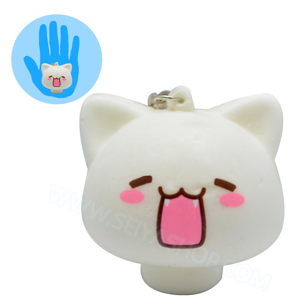 CA768 สกุชชี่ แมวเห็ด (soft) ขนาด 5 cm