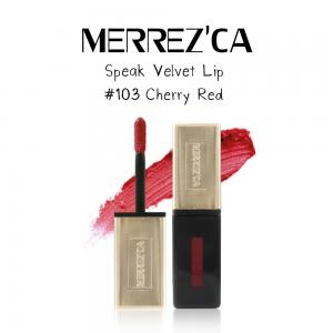 Merrez'Ca Speak Velvet Lip #103 Cherry Red