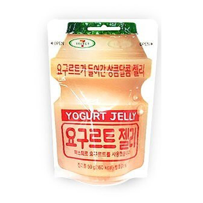 KP166 LOTTE Yogurt Jelly เยลลี่ยาคูลท์ ขนาด 50 กรัม