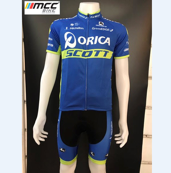 ชุดปั่นจักรยาน Orica Scott เสื้อปั่นจักรยาน และ กางเกงปั่นจักรยาน