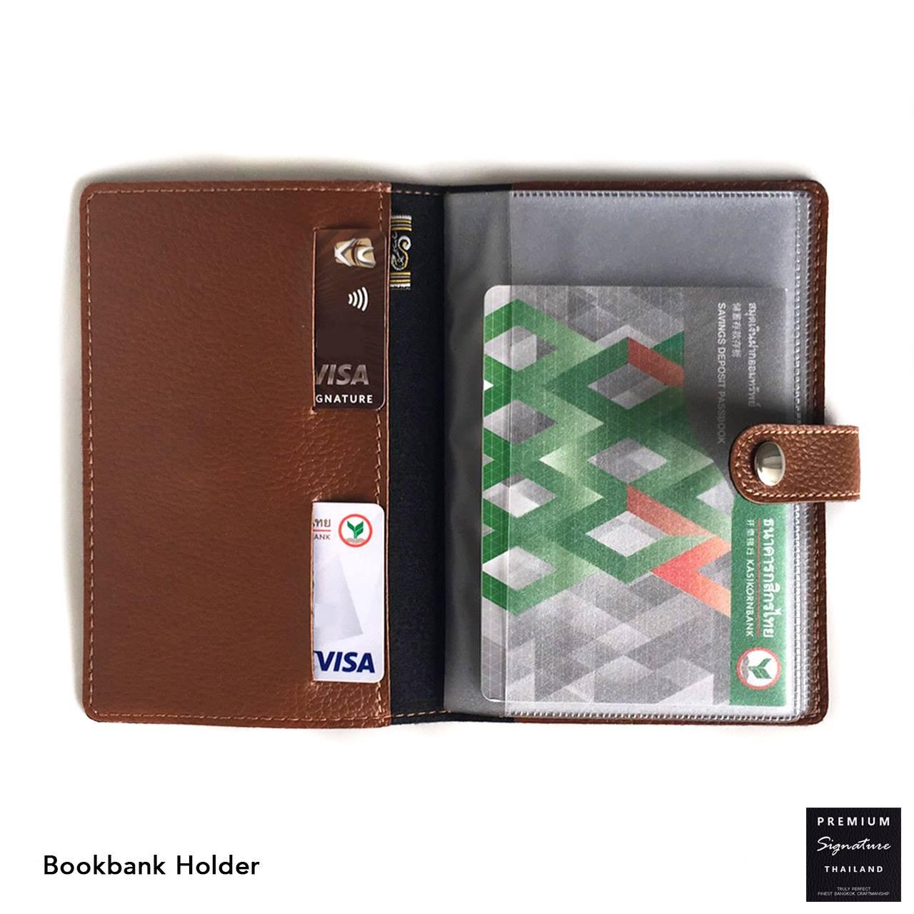 The Signature Bookbank Holder▪ กระเป๋าใส่สมุดบัญชีธนาคาร