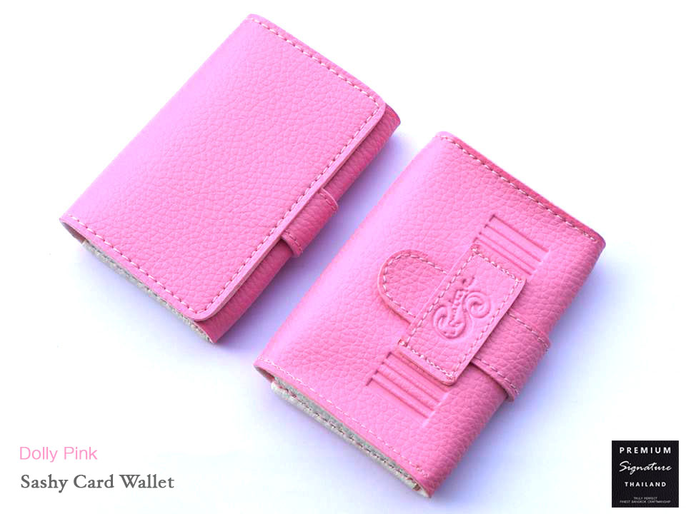Dolly Pink(ชมพูอ่อน) - Sashy Card Wallet