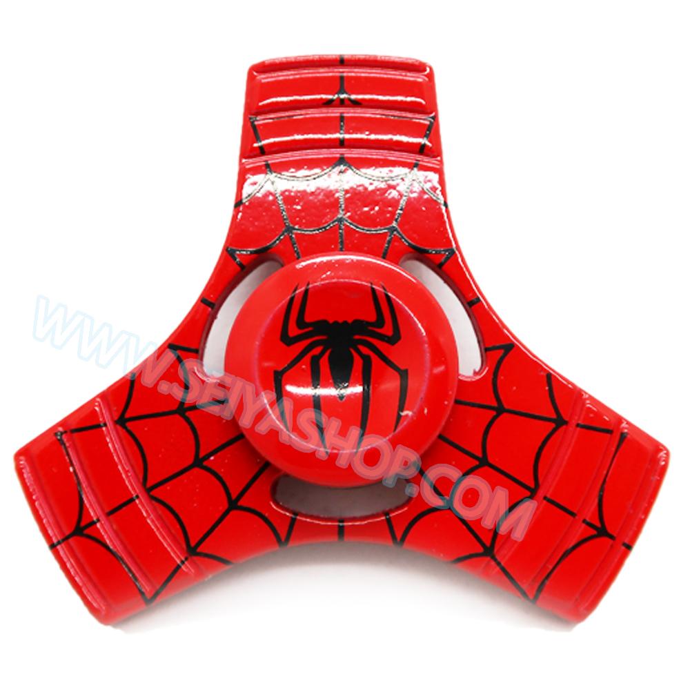 HF175 Fidget spinner -Hand spinner - GYRO (ไจโร) โลหะ starter ลาย Spiderman