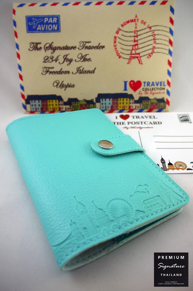 Baby Blue(ฟ้า) - Passport Holder