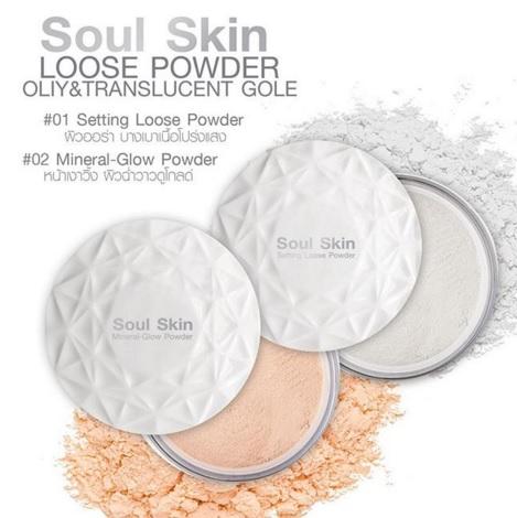 Soul Skin Loose Powder 10g. แป้งฝุ่นโปร่งแสง