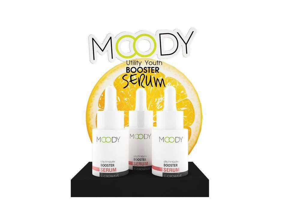(1 แถม 1) Moody Utility Youth Booster Serum 15 ml. เซรั่มวิตามิน ซี สกัดจากธรรมชาติ