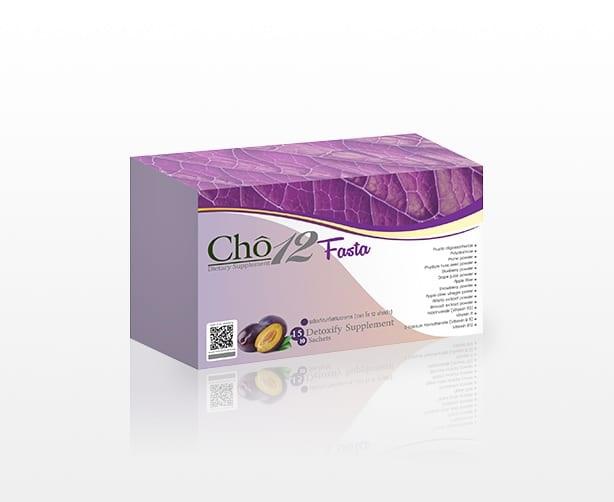 Cho12 Fasta โช ทเวลฟ์ ฟาสต้า สุดยอดผลิตภัณฑ์ที่จะช่วยรีเฟรชระบบขับถ่ายภายในร่างกาย ล้างลำไส้ให้สะอาดด้วยใยอาหารจากผักและผลไม้รวม 20 ชนิด