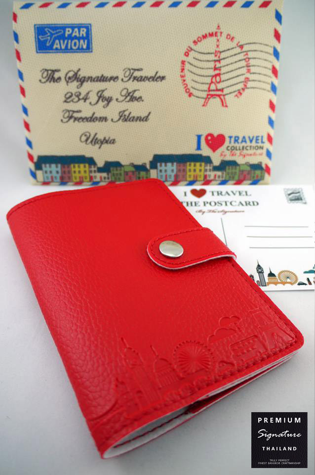 Fire Red(แดง) - Passport Holder