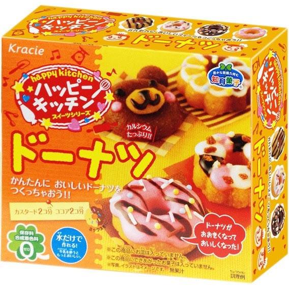 M001 Kracie Happy Kitchen Donuts ชุดทำโดนัท น่ารักมากๆ ทำเสร็จแล้วกินได้จริง