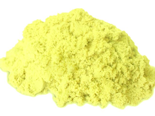 PS022 ทรายนิ่ม Soft Sand Play Sand สีเหลือง น้ำหนัก 500 กรัม
