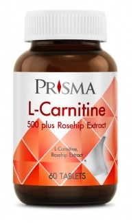 Prisma L-Carnitine 500 Plus Rosehip Extract 45 capsules