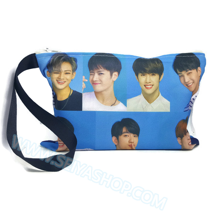 KGTB2 กระเป๋าผ้า GOT7 ของแฟนเมด ติ่งเกาหลี ขนาด 20 x 14 cm