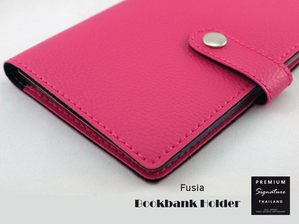 Fushia(บานเย็น) - Bookbank Holder