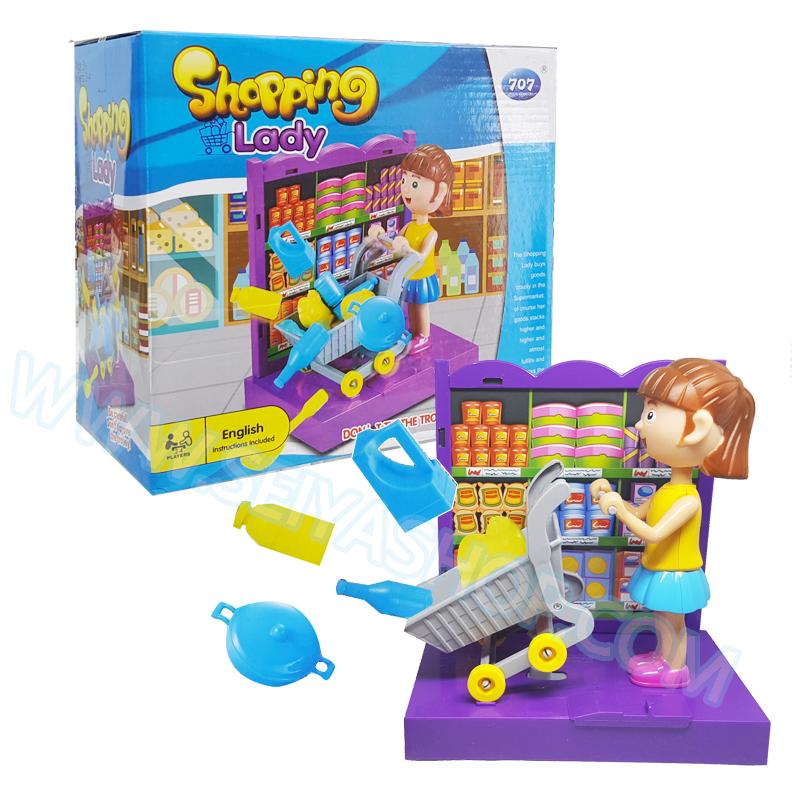 BO125 Shopping Lady ช๊อปปิ้งให้ดีงานนี้มีเด้ง ปาร์ตี้เกมส์ แฟมิลี่เกมส์ เกมส์บอร์ด เล่นสนุก กับเพื่อนๆ